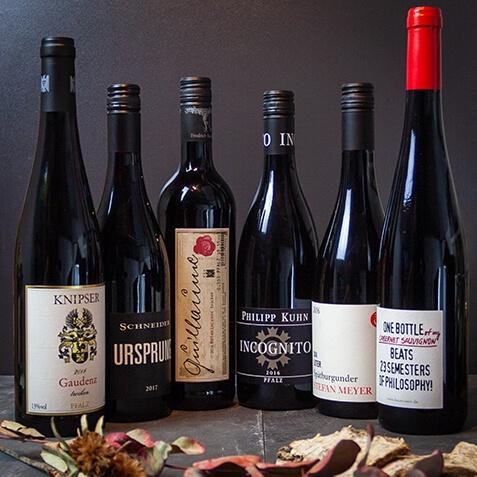 Wein Paket Rotweine der Region (6 Flaschen)