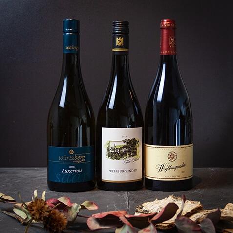 Wein Paket Burgunder der Region Variante B (3 Flaschen)
