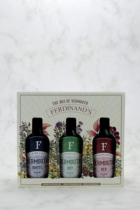 Ferdinand's Box of Vermouth 3x20cl
