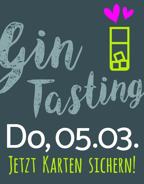 Gin-Tasting / 05.03.2020