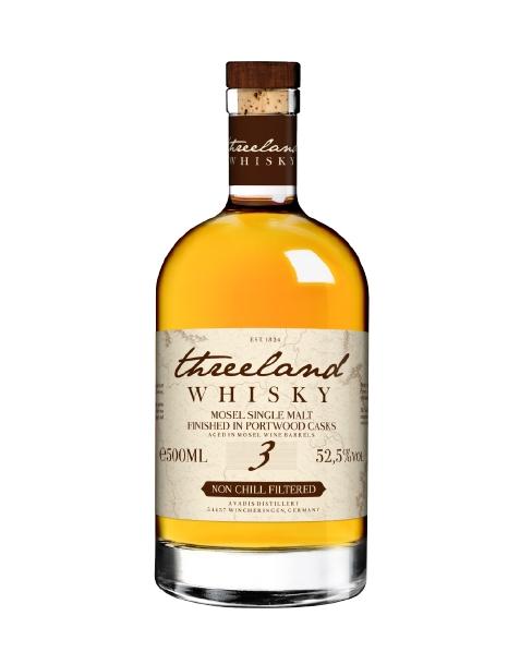 Threeland Whisky Portwood Finish 3Y