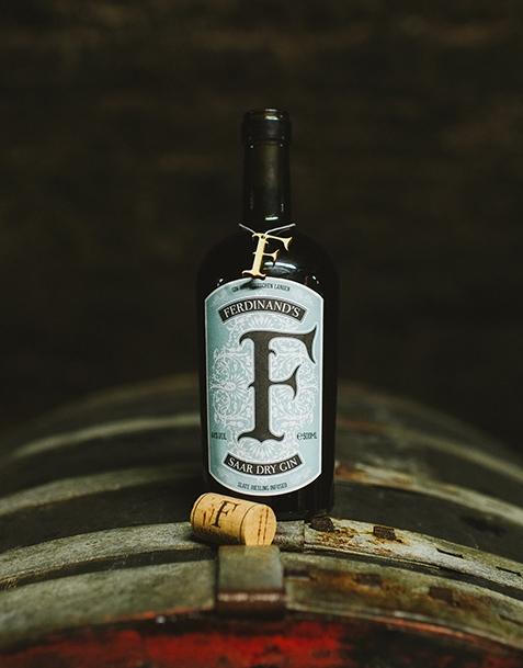 Ferdinand's Gin mit Trauben-Spätlese Infusion und 3x FeverTree Tonic
