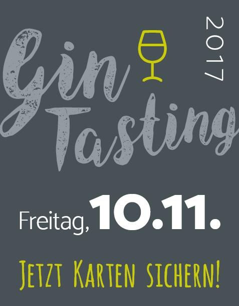 GIN-TASTING IN SAARBRÜCKEN // FR. 10.11.17