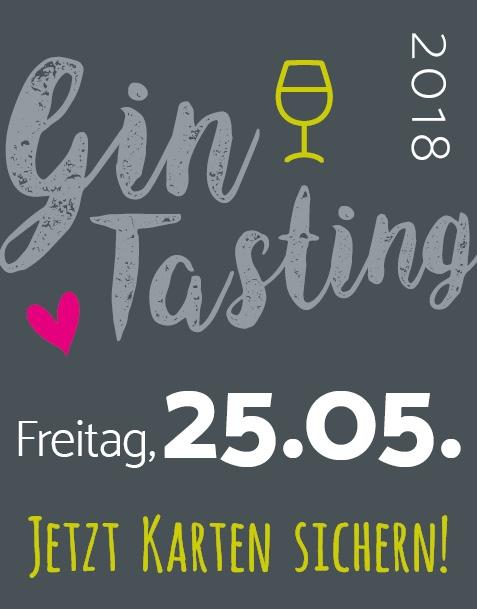 GIN-TASTING IN SAARBRÜCKEN // FR. 25.05.18