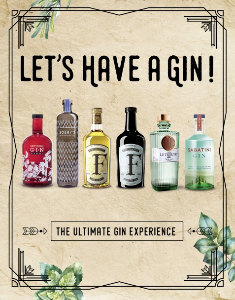 Gin in a Box - The ultimate Gin experience