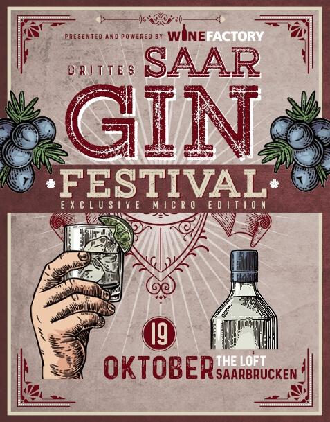 SAAR GIN FESTIVAL TICKET // SA. 19.10.19