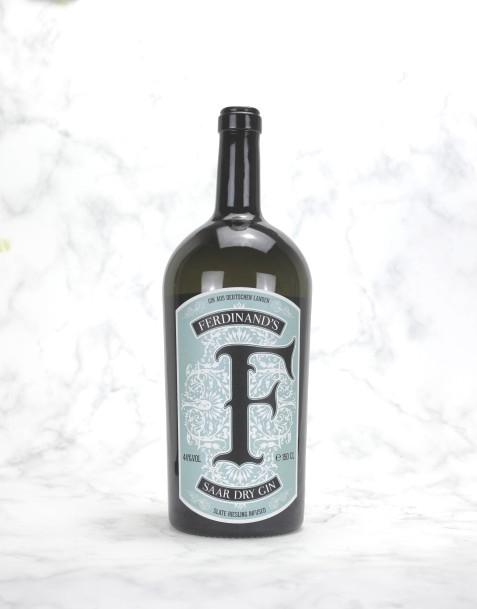 Ferdinand's Saar Dry Gin MAGNUM in Holzkiste
